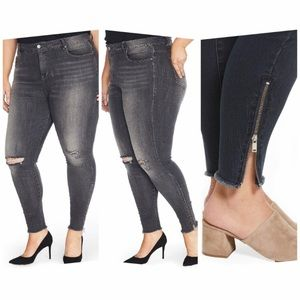 Rebel Wilson x Angels The Icon High Rise Skinny Jeans size 20W